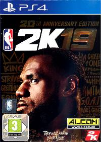 NBA 2K19 - Anniversary Edition (Playstation 4)