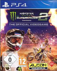 Monster Energy Supercross - The Official Videogame 2 (Playstation 4)