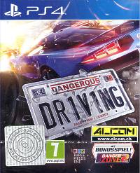 Dangerous Driving (Playstation 4)