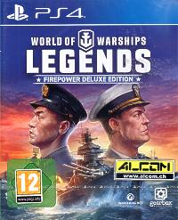 World of Warships: Legends - Firepower Deluxe Edition (Playstation 4)