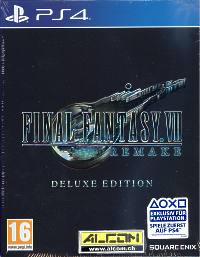 Final Fantasy 7 Remake - Deluxe Edition (Playstation 4)