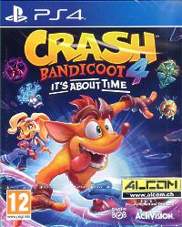 Crash Bandicoot 4: Its About Time (Playstation 4)