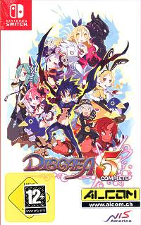 Disgaea 5: Alliance of Vengeance - Complete Edition (engl., Handb. deutsch) (Switch)