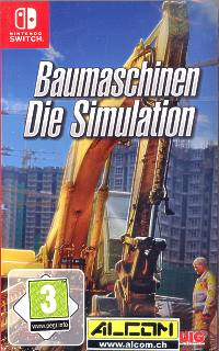 Baumaschinen: Die Simulation (Switch)