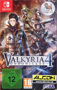 Valkyria Chronicles 4 - Launch Edition (Switch)
