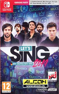 Lets Sing 2019 (Switch)