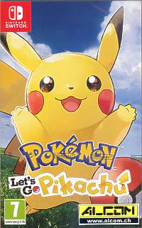 Pokemon: Lets Go, Pikachu! (Switch)