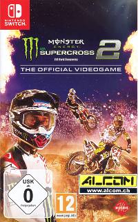 Monster Energy Supercross - The Official Videogame 2 (Switch)
