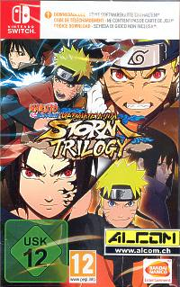 Naruto Shippuden: Ultimate Ninja Storm - Trilogy (Code in a Box) (Switch)