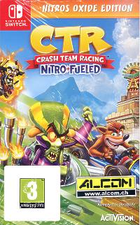 Crash Team Racing: Nitro-Fueled - Nitros Oxide Edition (Switch)