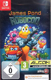 James Pond: Codname Robocod (Code in a Box) (Switch)