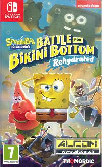 SpongeBob: Battle for Bikini Bottom - Rehydrated (Switch)