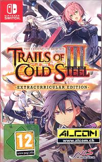 The Legend of Heroes: Trails of Cold Steel 3 - Extracurricular Edition (Switch)