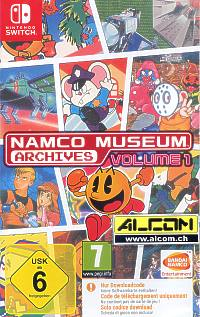 Namco Museum Archives Volume 1 (Code in a Box) (Switch)