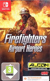 Firefighters: Airport Heroes (Code in a Box) (Switch)