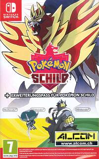 Pokemon Schild inkl. Erweiterungspass (Switch)