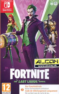 Fortnite - The Last Laugh Bundle (Code in a Box) (Switch)