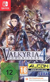 Valkyria Chronicles 4 (Code in a Box) (Switch)