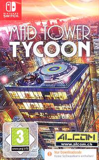 Mad Tower Tycoon (Code in a Box) (Switch)