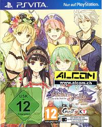 Atelier Shallie: Alchemists of the Dusk Sea (englisch, Handbuch deutsch) (PS Vita)