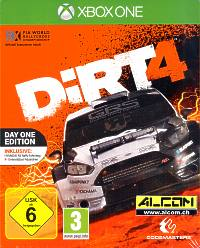 DIRT 4 - Day One Edition Steelbook (Xbox One)