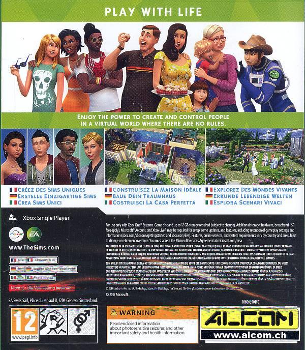 Die Sims 4 Xbox One Alcomch