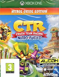 Crash Team Racing: Nitro-Fueled - Nitros Oxide Edition (Xbox One)