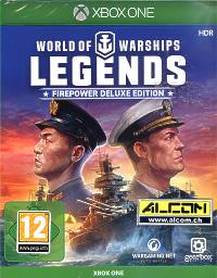 World of Warships: Legends - Firepower Deluxe Edition (Xbox One)