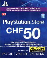 PSN Prepaid Card, Wert CHF 50.- (Code in a Box) (PS Vita)
