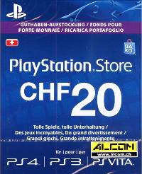 PSN Prepaid Card, Wert CHF 20.- (Code in a Box) (PS Vita)