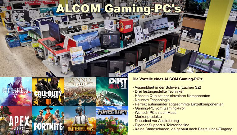 ALCOM Gaming-PC's
