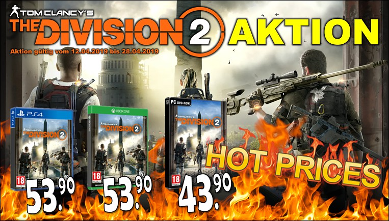 The Division 2 - Aktion